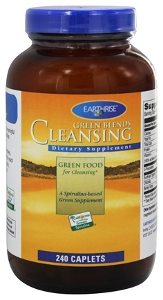 Earthrise - Green Blends Cleansing - 240 Capsules