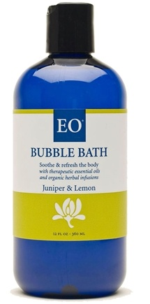 DROPPED: EO Products - Bubble Bath Juniper & Lemon - 12 oz.