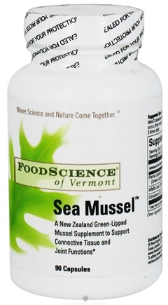 DROPPED: FoodScience of Vermont - Sea Mussel - 90 Capsules CLEARANCE PRICED