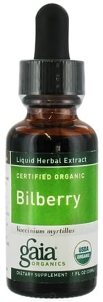 DROPPED: Gaia Herbs - Bilberry Certified Organic - 1 oz.