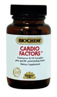 DROPPED: Biochem by Country Life - Cardio Factors - 50 Tablets