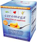 DROPPED: Coromega - Omega-3 Fish Oil Original Orange Flavor - 30 Packet(s)