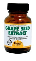 DROPPED: Country Life - Grape Seed Extract 200 mg. - 30 Vegetarian Capsules