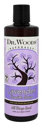 DROPPED: Dr. Woods - Shea Vision Castile Soap With Organic Shea Butter Soothing Lavender - 16 oz.