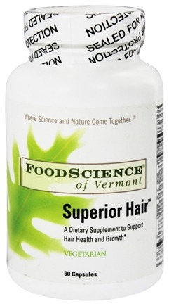 DROPPED: FoodScience of Vermont - Superior Hair - 90 Capsules