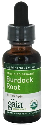 DROPPED: Gaia Herbs - Burdock Root Certified Organic - 1 oz. CLEARANCE PRICED