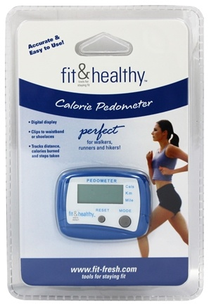DROPPED: Fit & Fresh - Fit & Healthy Calorie Pedometer - formerly by Vitaminder