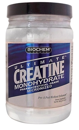 DROPPED: Biochem by Country Life - Creatine Monohydrate - 500 Grams