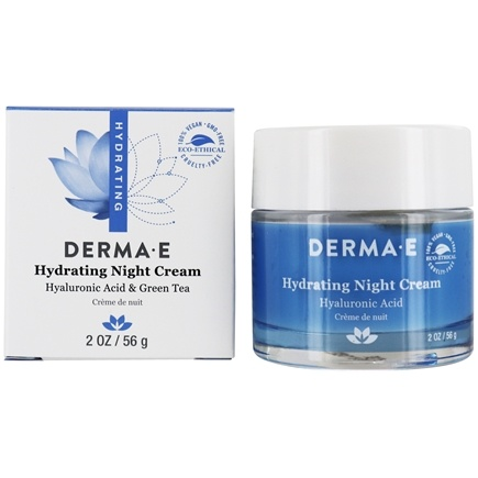 Derma-E - Hydrating Night Creme With Hyaluronic Acid - 2 oz. (formerly Hyaluronic Acid Night Creme)