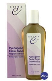 DROPPED: Derma-E - Pycnogenol Facial Toner, Fragrance Free - 4 oz.