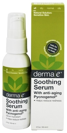 Derma-E - Soothing Serum With Anti-Aging Pycnogenol - 2 oz.