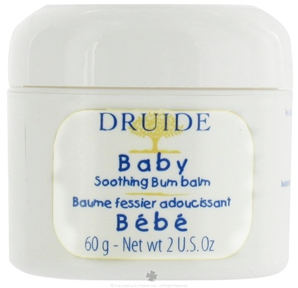 DROPPED: Druide Body Care - Baby Bum Protective Balm - 2 oz.