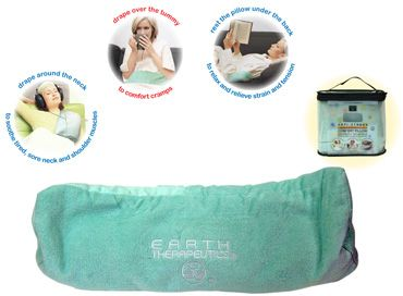 DROPPED: Earth Therapeutics - Anti-Stress Microwaveable Comfort Pillow