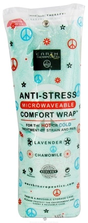 DROPPED: Earth Therapeutics - Anti-Stress Microwaveable Comfort Wrap Lavender Chamomile