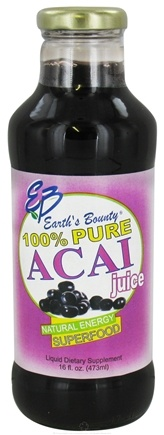 Zoom View - Acai Juice 100% Pure