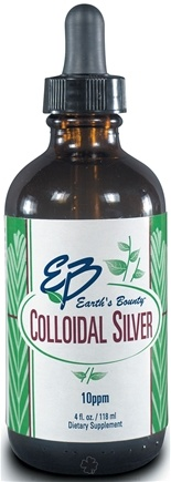DROPPED: Earth's Bounty - Colloidal Silver - 4 oz.