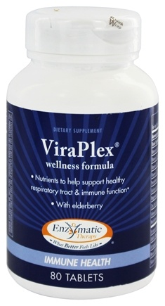 Enzymatic Therapy - ViraPlex Immune Activator - 80 Tablets