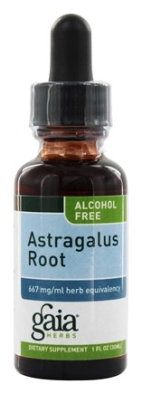 DROPPED: Gaia Herbs - Astragalus Root Alcohol Free - 1 oz. Formerly Chinese Astragalus Alcohol Free