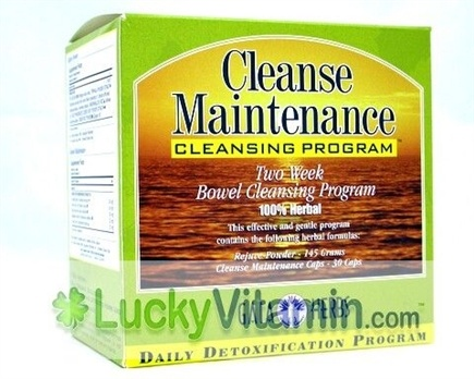 DROPPED: Gaia Herbs - Cleanse Maintenance Kit - 1 Set(s)