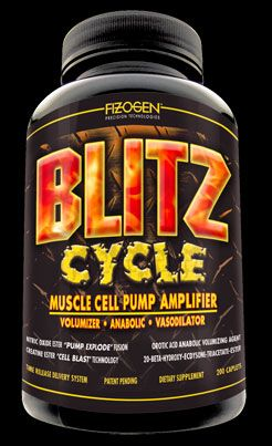 Zoom View - Blitz Cycle - Muscle Cell Pump Amplifier
