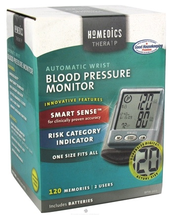 DROPPED: HoMedics - Automatic Wrist Blood Pressure Monitor BPW-200 - CLEARANCE PRICED