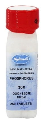 DROPPED: Hylands - Phosphorus 30 X - 250 Tablets