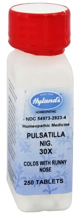 Hylands - Pulsatilla 30 X - 250 Tablets