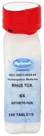 Hylands - Rhus Tox 6 X - 250 Tablets