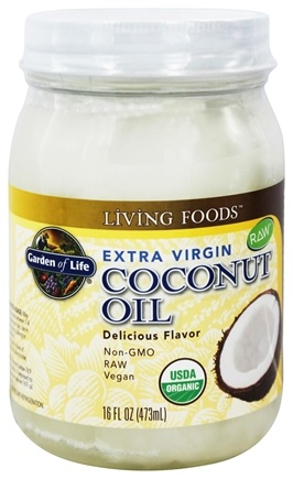 Garden of Life - Extra Virgin Coconut Oil - 16 oz.