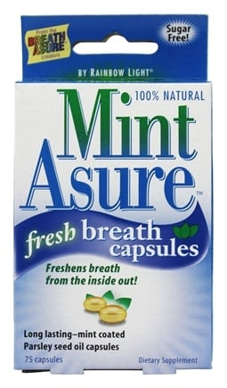 Rainbow Light - Mint Asure Fresh Breath - 75 Capsules formerly Health Asure