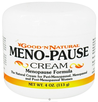DROPPED: Good 'N Natural - Meno-Pause Cream Menopause Formula - 4 oz. (Formerly Progesterone Cream)