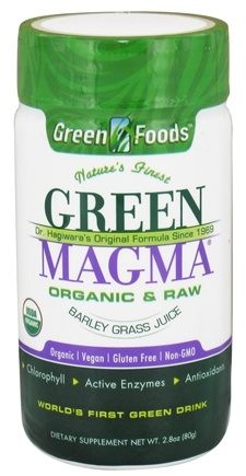 Green Foods - Green Magma USA Organic - 2.8 oz.