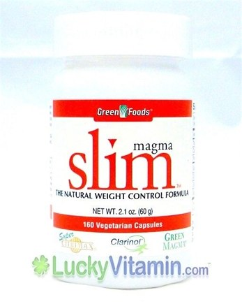 DROPPED: Green Foods - Magma Slim - 160 Capsules
