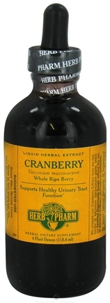 DROPPED: Herb Pharm - Cranberry Extract - 4 oz. CLEARANCE PRICED