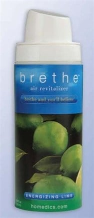 DROPPED: HoMedics - Brethe Air Revitalizer Refill Energizing Lime BRT-S100 - 8 oz.