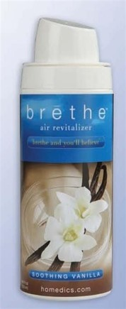 DROPPED: HoMedics - Brethe Air Revitalizer Refill Soothing Vanilla BRT-S110 - 8 oz.
