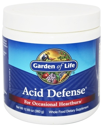 DROPPED: Garden of Life - Acid Defense For Occasional Heartburn - 360 Grams