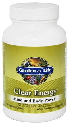 Garden of Life - Clear Energy Mind and Body Power - 60 Vegetarian Caplet(s)