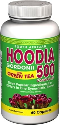 DROPPED: Good 'N Natural - Hoodia with Green Tea - 60 Capsules
