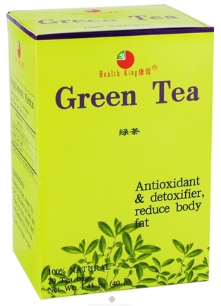 DROPPED: Health King - Green Herb Tea - 20 Tea Bags CLEARANCE PRICED