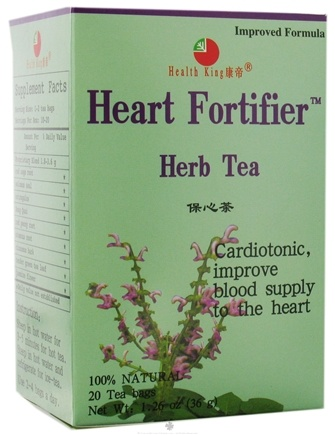 DROPPED: Health King - Heart Fortifier Herb Tea - 20 Tea Bags