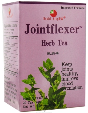 DROPPED: Health King - JointFlexer Herb Tea - 20 Tea Bags CLEARANCED PRICED