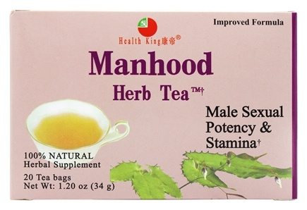 Health King - Manhood Herb Tea - 20 Tea Bags