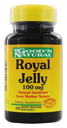 DROPPED: Good 'N Natural - Royal Jelly 100 mg. - 50 Softgels