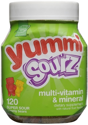 DROPPED: Hero Nutritionals Products - Yummi Sourz