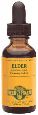 DROPPED: Herb Pharm - Elder Extract - 1 oz. CLEARANCE PRICED
