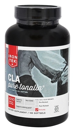 Iron Tek - CLA Pure Tonalin 1000 mg. - 180 Softgels