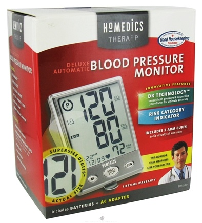 Zoom View - Deluxe Automatic Blood Pressure Monitor with Super Size Digits BPA-300