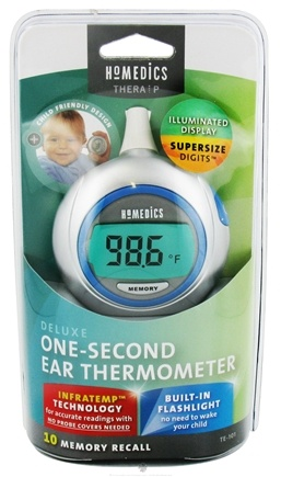 DROPPED: HoMedics - Deluxe One-Second Ear Thermometer TE-101 - WINTER SPECIAL