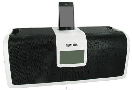 DROPPED: HoMedics - Dock N Party Ultra Portable iPod Docking Station DP-900 - CLEARANCE PRICED